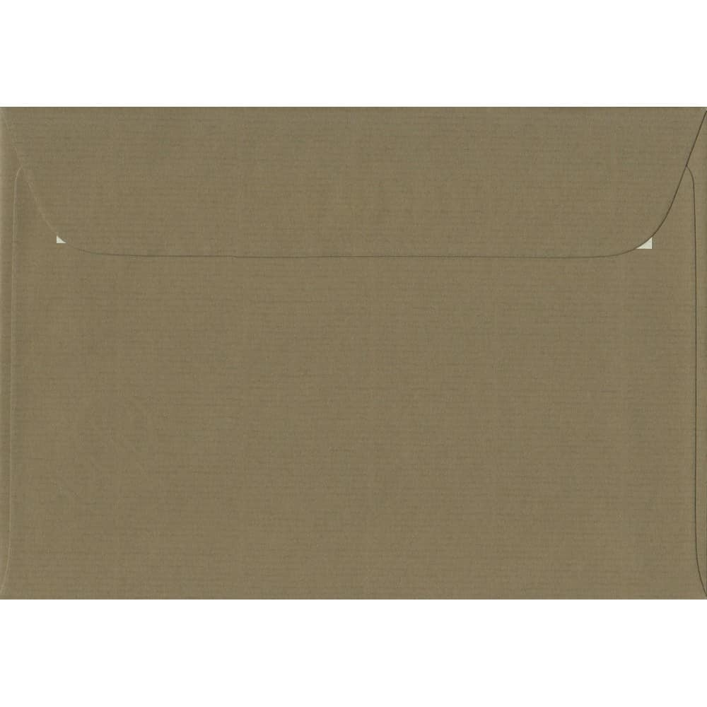 130gsm suitable for 5x7 cards 130 x 184mm Brown Recycled Fleck Kraft Envelopes